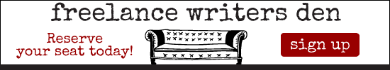 Freelance Writer's Den