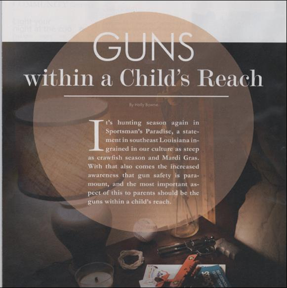 Guns-Within a Child's Reach