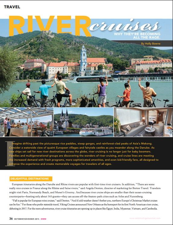 River cruises travel article