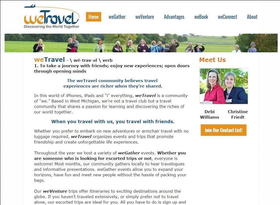 travel website copy, travel copywriter