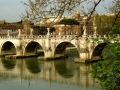 Bridge near Castel Sant'Angelo in Rome
