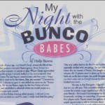 My Night With the Bunco Babes, women's interest, essay