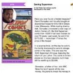 children's news article, app writer